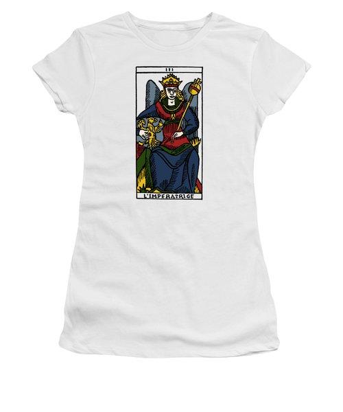 Tarot Card The Empress Women's T-Shirt