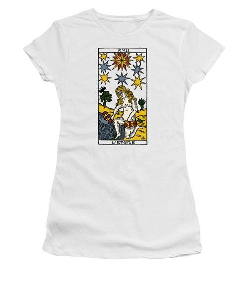 Tarot Card The Stars Women's T-Shirt