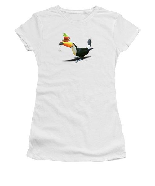 Tea For Tou Wordless Women's T-Shirt (Athletic Fit)