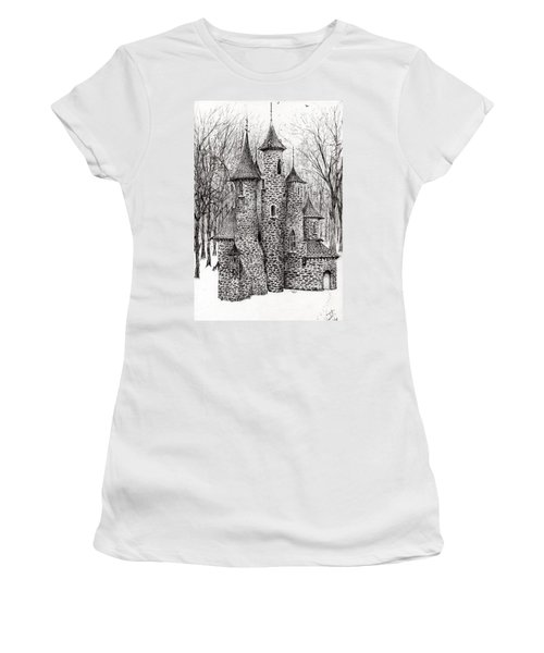 The Castle In The Forest Of Findhorn Women's T-Shirt