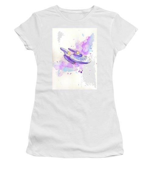 The Enterprise Women's T-Shirt (Junior Cut) by Whitney Morton