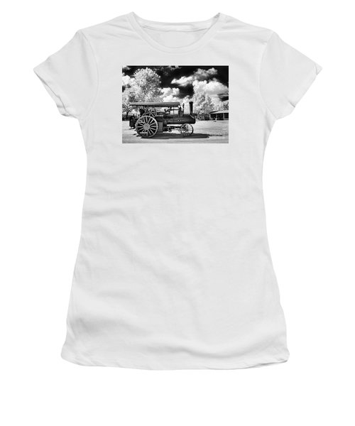 Women's T-Shirt (Junior Cut) featuring the photograph The Old Way Of Farming by Paul W Faust - Impressions of Light
