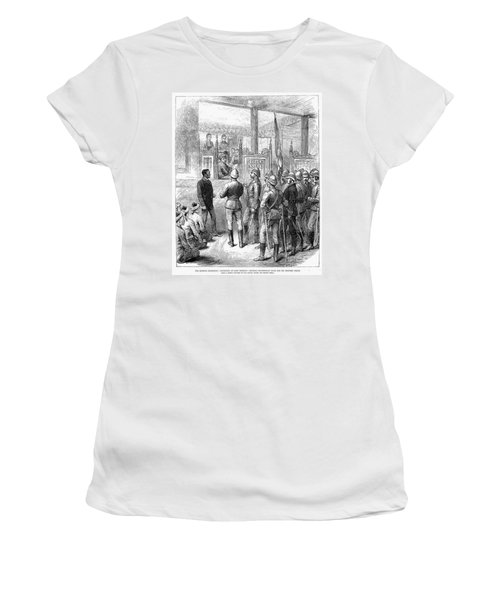 Third Burmese War, 1885 Women's T-Shirt