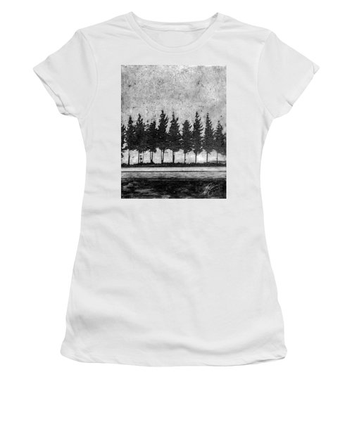 Tree Road Women's T-Shirt (Athletic Fit)