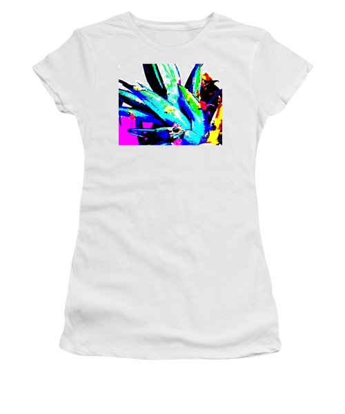 Tropical Women's T-Shirt (Athletic Fit)