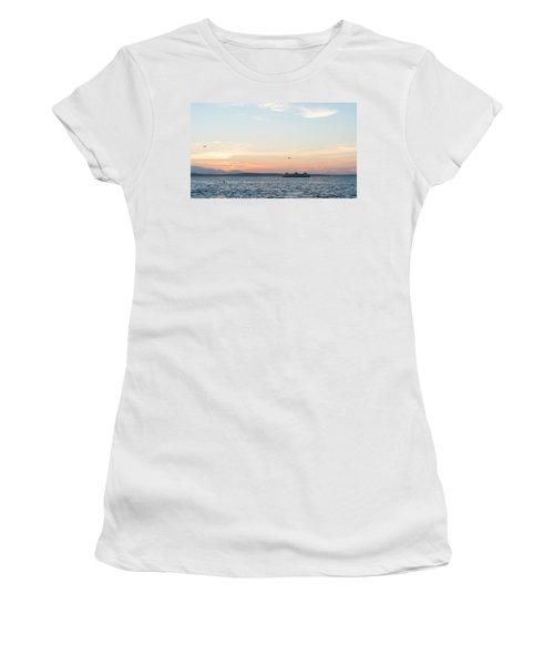 Twilight In Puget Sound Women's T-Shirt