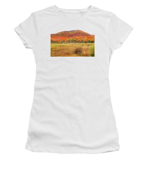 Vermont Foliage 1 Women's T-Shirt (Athletic Fit)