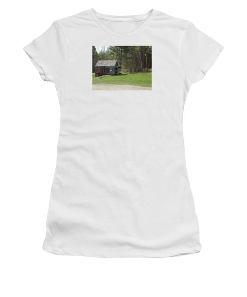 Vermont Grist Mill Women's T-Shirt (Junior Cut) by Catherine Gagne