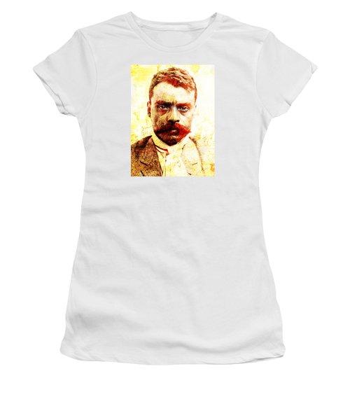 Zapata Women's T-Shirt (Junior Cut) by J- J- Espinoza