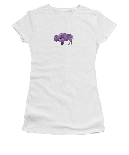 Bison Women's T-Shirt (Junior Cut) by Mordax Furittus