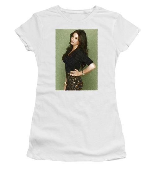 Celebrity Sofia Vergara  Women's T-Shirt (Junior Cut) by Best Actors