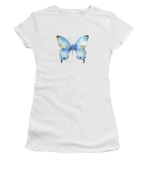 #109 Blue Diana Butterfly Women's T-Shirt