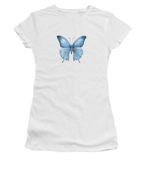 111 Blue Elijah Butterfly Women's T-Shirt