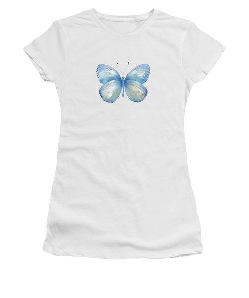 112 Blue Marcia Butterfly Women's T-Shirt