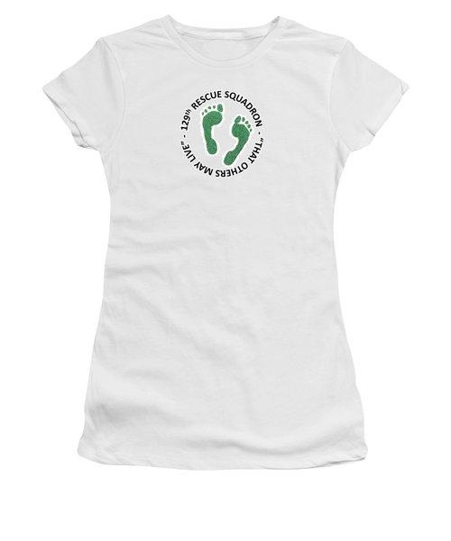 129th Rescue Squadron Women's T-Shirt (Athletic Fit)