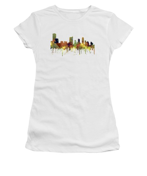 Austin Texas Skyline Women's T-Shirt (Athletic Fit)