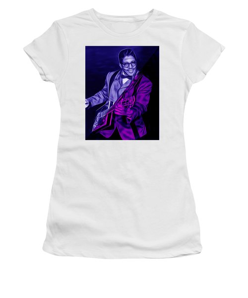 Bo Diddley Collection Women's T-Shirt (Athletic Fit)