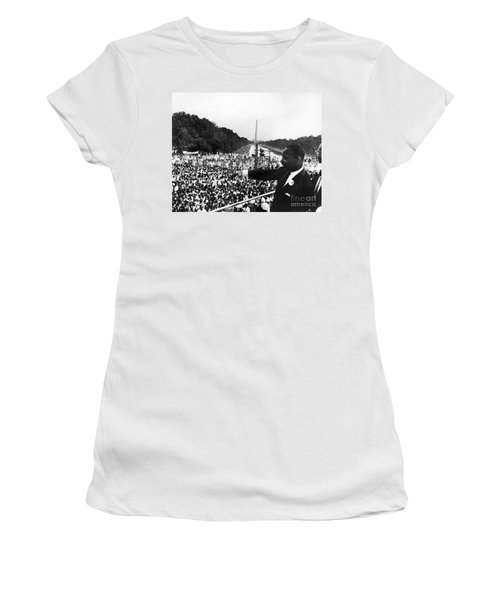 Martin Luther King, Jr Women's T-Shirt (Athletic Fit)