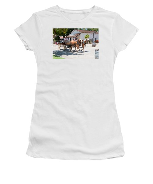 Old Town San Diego Women's T-Shirt (Athletic Fit)
