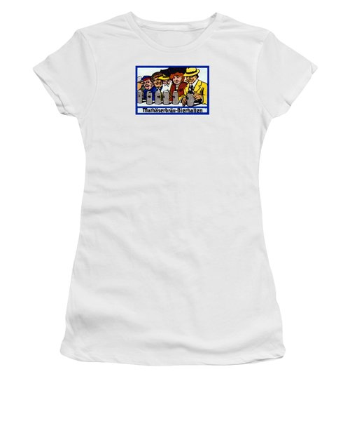 1905 Berlin Beer Hall Women's T-Shirt (Athletic Fit)