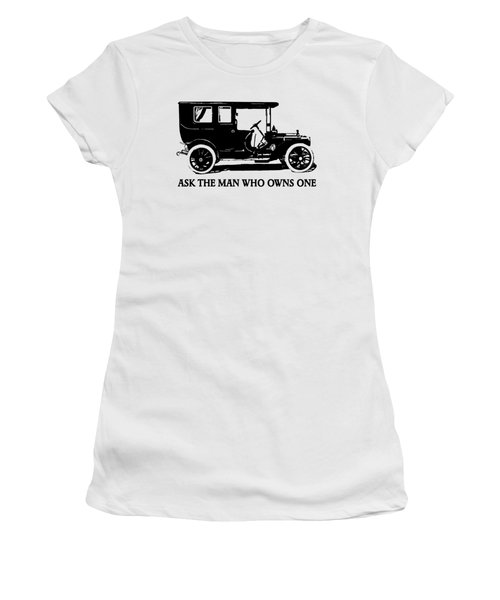 1909 Packard Limousine Slogan Women's T-Shirt (Athletic Fit)