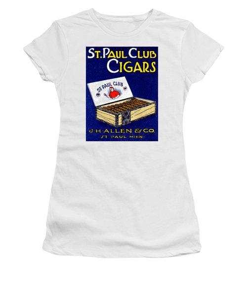1910 St. Paul Club Cigars Women's T-Shirt