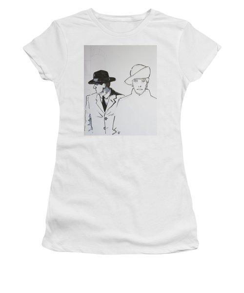 1920s Film Noir - I Think Were Being Followed Women's T-Shirt