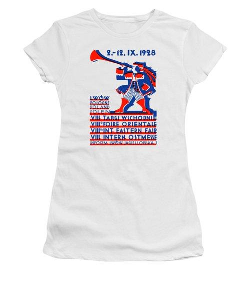 1928 Lwow Eastern International Fair Women's T-Shirt