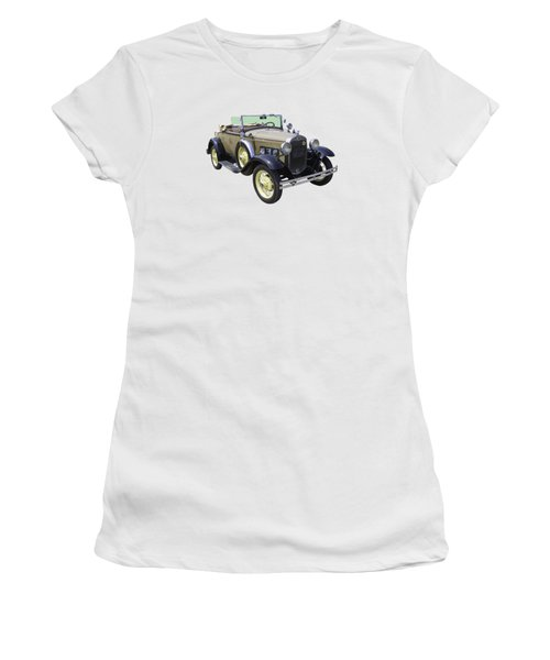 1931 Ford Model A Cabriolet Women's T-Shirt