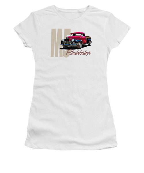 1947 M5 Studebaker Pickup Women's T-Shirt (Athletic Fit)