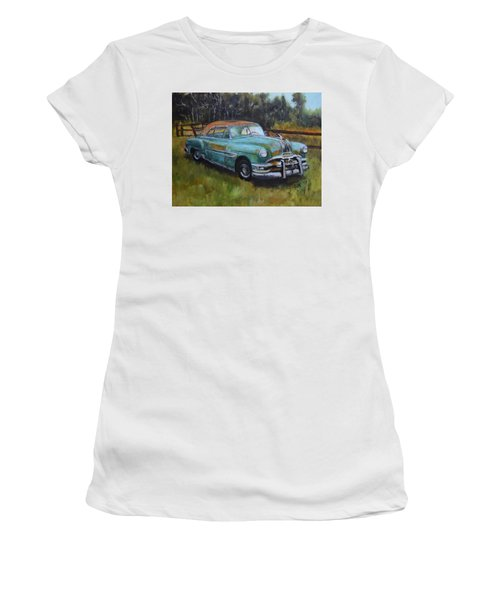 1952 Pontiac Chieftain  Women's T-Shirt (Athletic Fit)