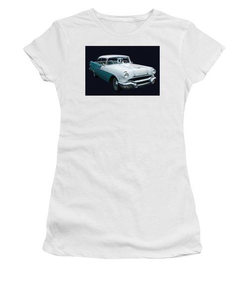 1956 Pontiac Star Chief Digital Oil Women's T-Shirt