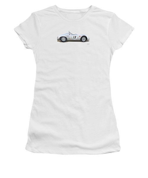 1959 Porsche Type 718 Rsk Spyder Women's T-Shirt (Junior Cut) by Alain Jamar