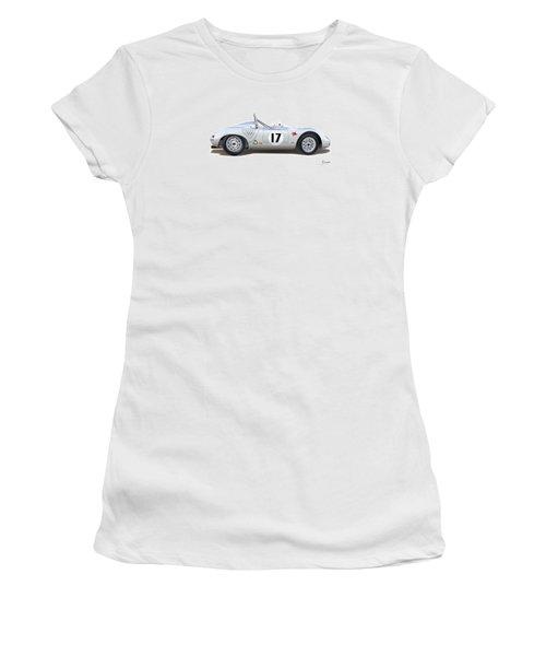 1959 Porsche Type 718 Rsk Spyder Women's T-Shirt (Athletic Fit)