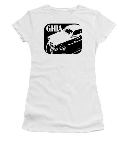 1962 Karmann Ghia Pop Art Tee Women's T-Shirt (Athletic Fit)