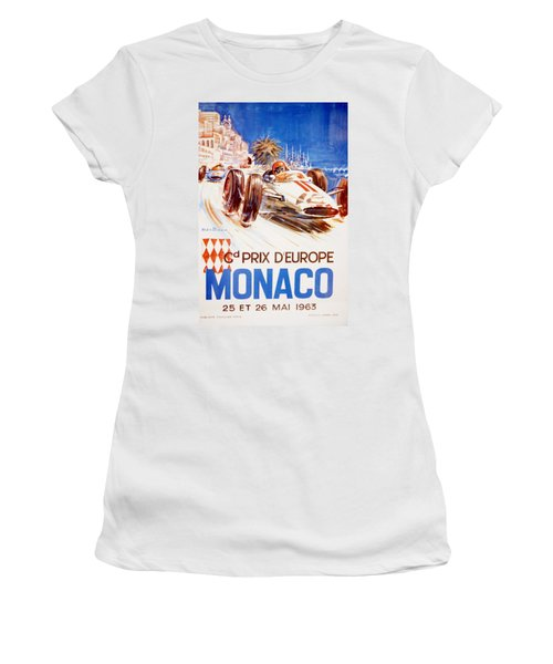 1963 F1 Monaco Grand Prix  Women's T-Shirt