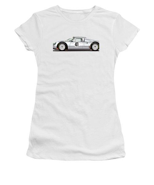 1964 Porsche 904 Carrera Gts Women's T-Shirt (Athletic Fit)