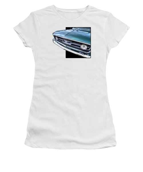 1967 Mustang Grille Women's T-Shirt (Athletic Fit)