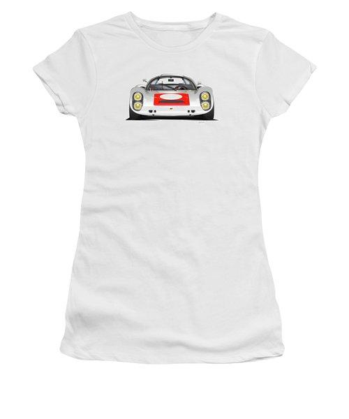 1967 Porsche 910 Illustration Women's T-Shirt (Athletic Fit)