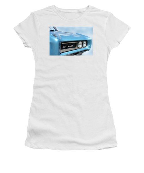 1968 Pontiac Gto Women's T-Shirt (Athletic Fit)