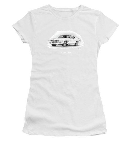 1970 Pontiac Gto Judge Women's T-Shirt