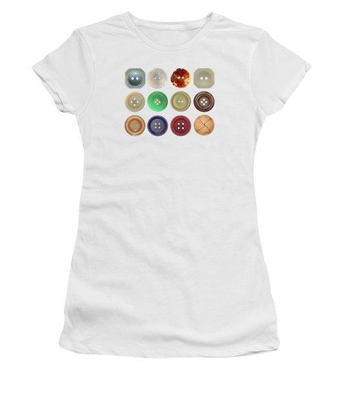 Buttons Women's T-Shirt