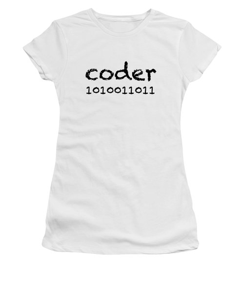 Coder Women's T-Shirt (Junior Cut) by Bill Owen