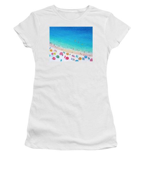 Colors Of The Beach Women's T-Shirt (Junior Cut) by Jan Matson