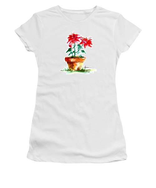 Cracked Pot  Women's T-Shirt (Athletic Fit)