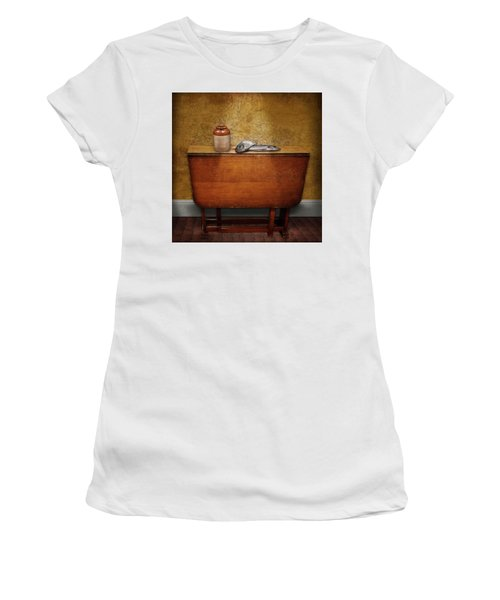 2 Fish And A Jug Women's T-Shirt (Junior Cut) by Marty Garland