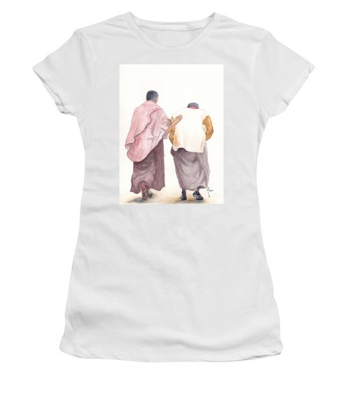 Friends Women's T-Shirt (Junior Cut) by Annemeet Hasidi- van der Leij