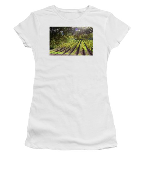 Grapevines In The Fall Women's T-Shirt