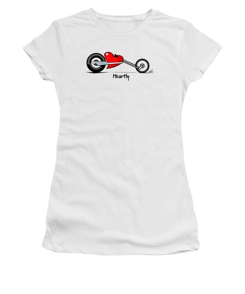 Heartly Women's T-Shirt (Athletic Fit)