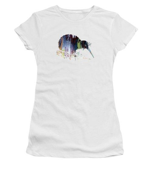 Kiwi Bird Women's T-Shirt (Junior Cut) by Mordax Furittus